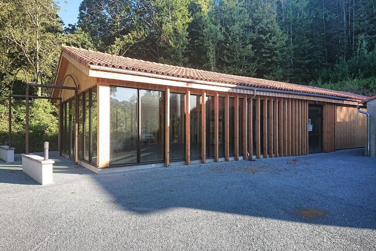 Salle des fêtes - Cuxac Cabardès (Aude)